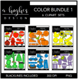 Color Clipart Bundle 1 {A Hughes Design}