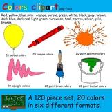 Color Clipart bundle