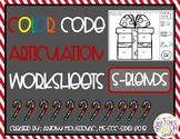 Color Code Articulation Sheets-S-Blends