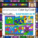 Color Code Interactive Videos - Pond Subtraction to 20