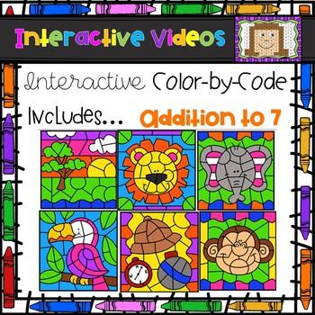 Color Code Interactive Videos - Safari Addition to 7