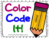 Color Code It! Animal Classifications