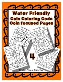 Color Code Penny Nickel Dime Quarter Water / Sea / Ocean Sheets