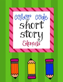 Color Code Short Story Elements