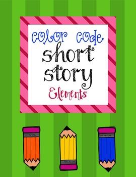 Color Code Short Story Elements