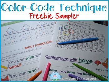 Color Code Technique FREEBIE Sampler