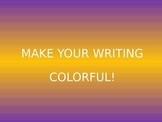 Color Code Writing