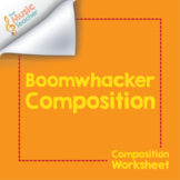 Boomwhacker Composition Worksheet | Color-Coded Composition