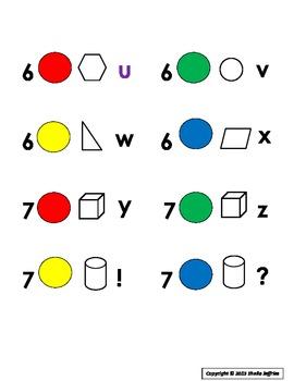 Color Coded Desk Labels