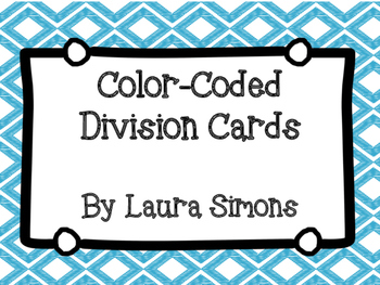 Color-Coded Division Cards