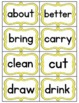 Color Coded Dolch Sight Word Wall for Multi-age Classrooms