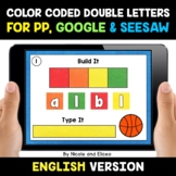 Color Coded Double Consonant Word Work for Google and Sees