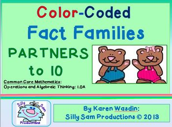 Fact Families PARTNERS to 10