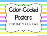 Color-Coded Foods Lab Posters