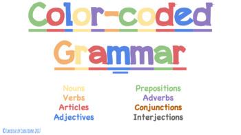 Color-Coded Grammar Unit