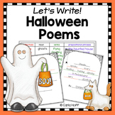 Halloween Poetry Writing Activities