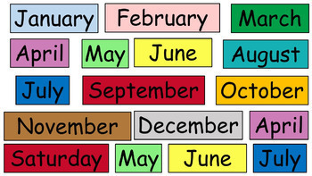 Color-Coded Interactive Calendar Routine