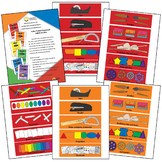 Color Coded Labels For Elementary Art Bins