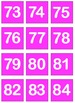 Color Coded Numbers 1 - 200