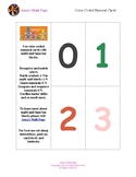 Color-Coded Numeral Cards 0-9