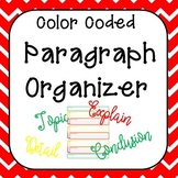 Color Coded Paragraph Planner and Organizer