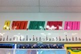 Color Coded Place Value Wall Chart and Homework Helper