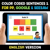 Color Coded Sentence Building for Google and Seesaw 1 - Di