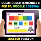 Color Coded Sentence Building for Google and Seesaw 2 - Di