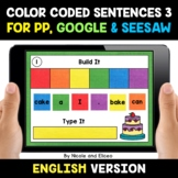 Color Coded Sentence Building for Google and Seesaw 3 - Di