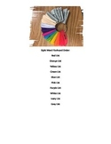 Color Coded Sight Words