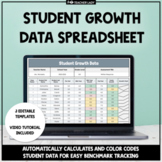 Digital Data Tracking Spreadsheet for Google Drive