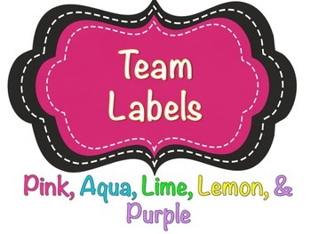 Color Coded Table Group Labels