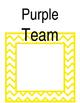 Color Coded Team Station Labels