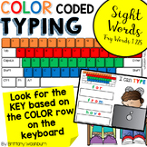 Color Coded Typing - Sight Words
