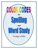 Color Codes for Spelling and Word Study
