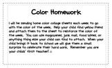 Color Collage Homework