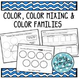 Color, Color Families, Color Mixing