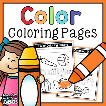 Color Coloring Pages