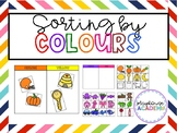 Sorting by Colours / Colors Activity for Toddlers