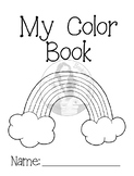 Color (Colour) Worksheets - Booklet of 16 Activites to Hel