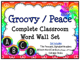 Color Combos Collection: Groovy / Peace Themed Complete Wo