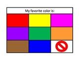 Color Communication Board