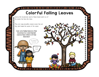 Color Concepts and Vocabulary Interactive eBook Freebie