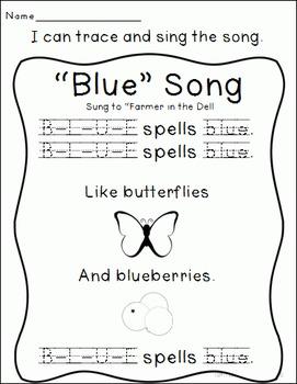 Color Connections: Blue