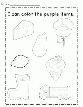 Color Connections: Purple