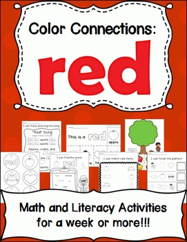 Color Connections: Red