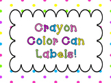 Color Container Labels