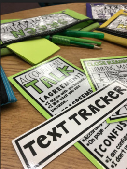 Color-Coordinated Tools for Close Reading