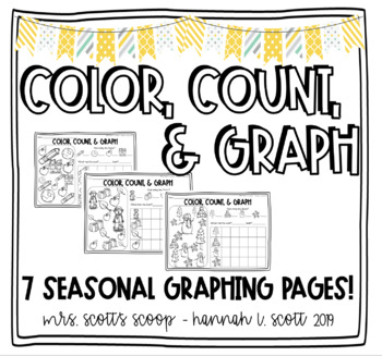Color, Count & Graph (Seasonal)