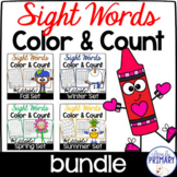 Color & Count Sight Words Bundle
